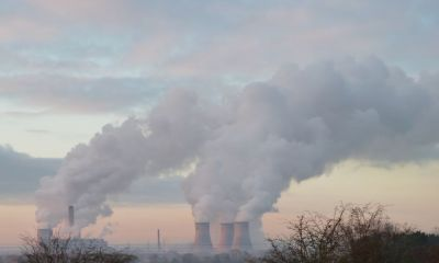 Didcot Power Station in Full Steam, means it is very cold weather