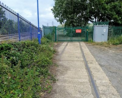 Lost Railway Siding At Culham Station