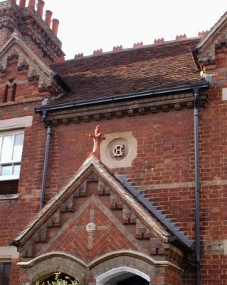 Ornate Christ's Hospital built House Ock St